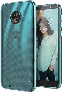 Moto G6 Case, Aeska Ultra [Slim Thin] Flexible TPU Gel Rubber Soft Skin Silicone Protective Case Cover for Motorola Moto G6 (Mint)