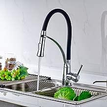 Schwarz Küchenarmatur Wasserhahn Spültischarmatur Mischbatterie Spüle Armatur