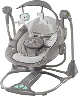 Ingenuity ConvertMe Swing-2-Seat, Orson/Grey