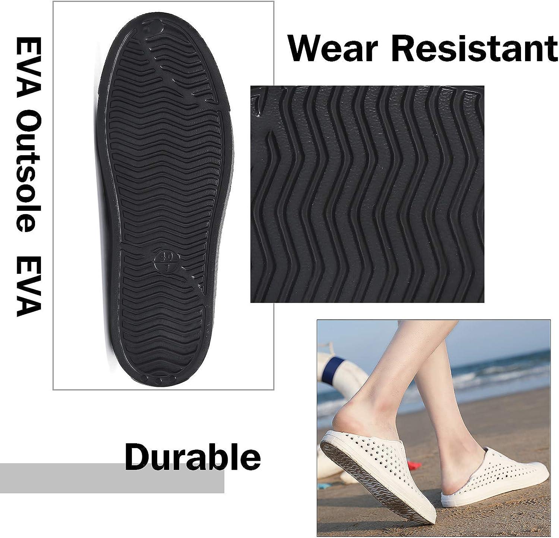 SAGUARO Herren Damen Kinder Freizeit-Sneaker Slip-on Atmungsaktiv Garten Clogs Strand Wasser Schuhe