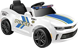 Kid Motorz Chevrolet Racing Camaro Police Edition One Seater in White ( 6V )