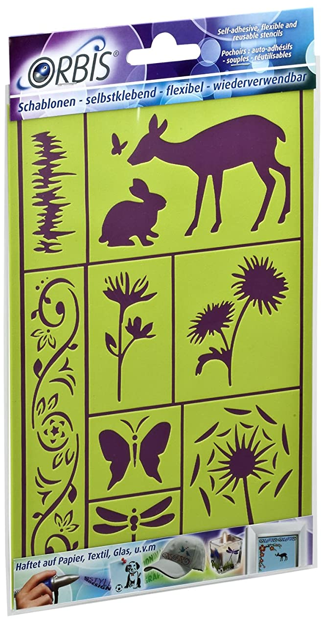 Revell Adhesive Stencils Spring II