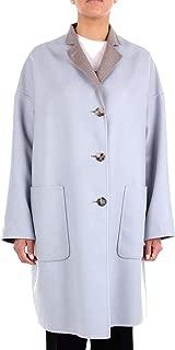 ALBERTO BIANI Luxury Fashion Womens OD882WO0218LIGHTBLUE Light Blue Coat   Season Outlet