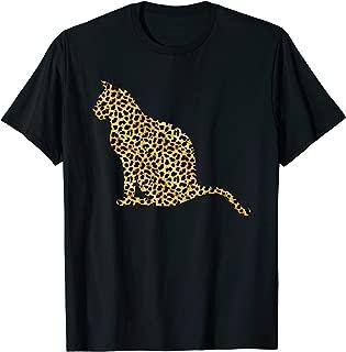 Bombay Leopard Print Feline Cat Animal Lover Women Gift T-Shirt