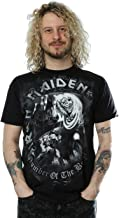 Iron Maiden Men's Number of The Beast Greytone T-Shirt