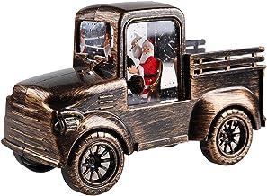 Dastrues Retro Auto Led Nachtlamp,met Kerstman Patroon Aangedreven door Knop Batterij Xmas Ornamenten Speelgoed Geschenken