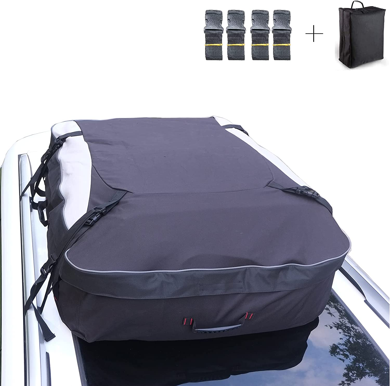 BANDUN Waterproof Car Roof Translated Bag, Cargo Rooftop Bag Ranking TOP20 Carrier
