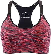 Aibrou Sportbeha voor dames, gevoerd, sportbeha voor joggen