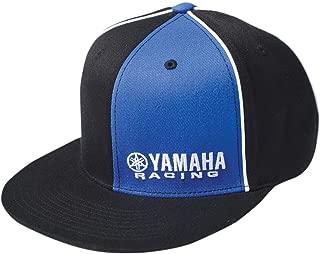 Factory Effex Yamaha Racing Flexfit Hat (Large/X-Large) (Black/Blue)