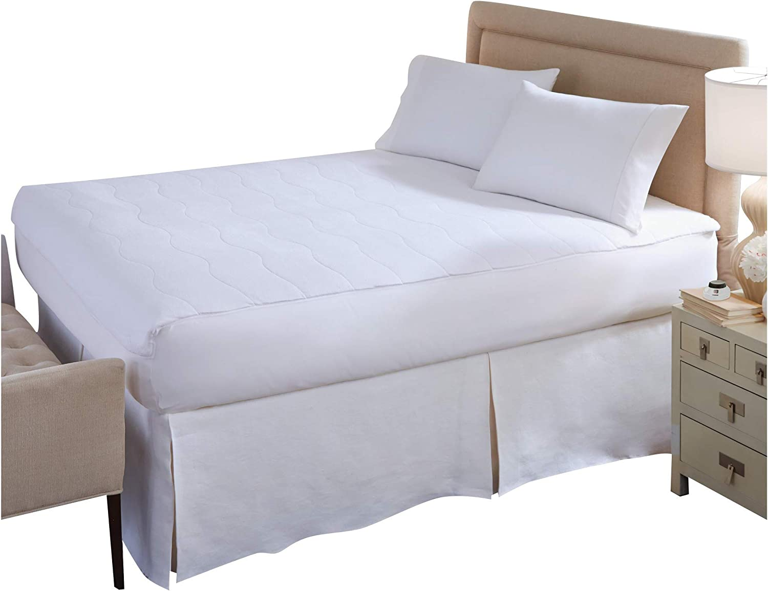 Perfect lowest price Fit Long Beach Mall SoftHeat Smart Heated with Saf Pad Electric Mattress