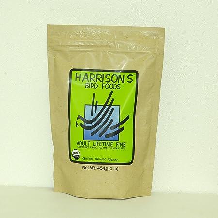 Harrison's Bird Foodハリソンバードフード アダルトライフタイム ファイン 454g