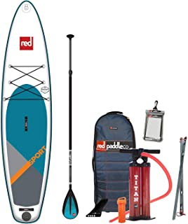 2019 Red Paddle Co.11'0 Sport Inflatable SUP with Alloy Nylon 3 Part Paddle