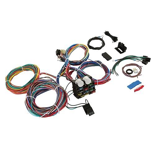 bestequip 12 standard circuit universal hot rod wiring harness muscle car hot  rod street rod xl