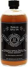 McClary Bros Drinking Vinegars, Michigan Apple Pie - Hand-Crafted With Premium Ingredients, Ideal for Shrub Cocktails, Sodas and Cooking - Naturally Flavored Organic Apple Cider Vinegar, 16oz Bottle