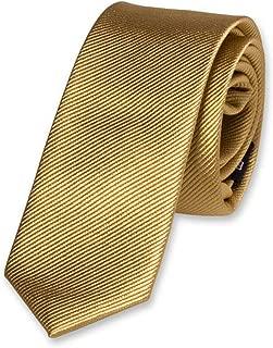 Amarillo Gleader Corbata de Poliester para Ninos