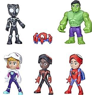 Marvel Spidey and His Amazing Friends gemaskeerde helden, multipack, 10 cm grote actiefiguren, voor kinderen vanaf 3 jaar
