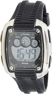 Colmar Cr-98638 Reloj Digital para Hombre Caja De Acero Inoxidable Esfera Color Gris