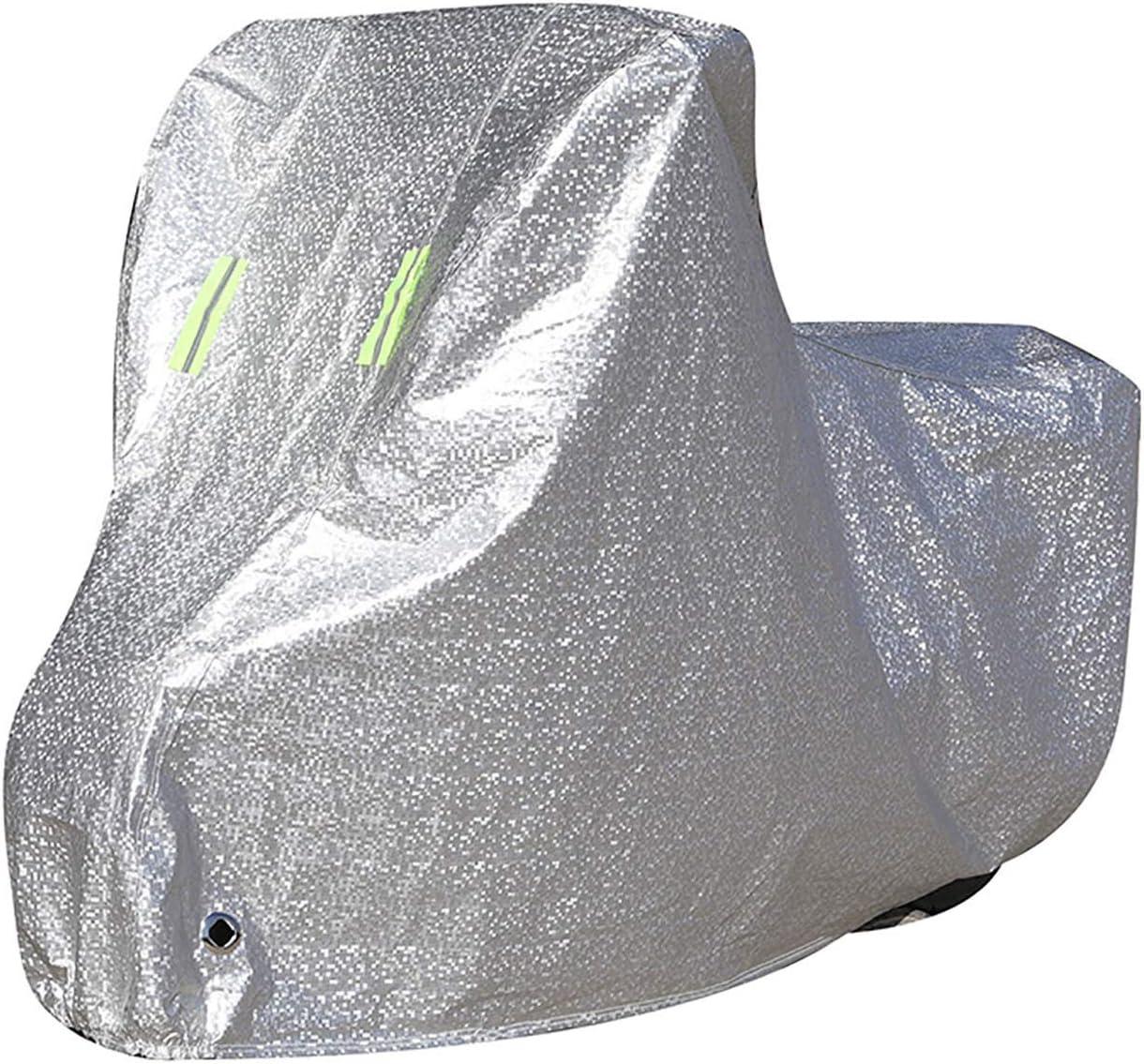 Funda para Moto Compatible con la cubierta de motocicleta SOCO TS PRO, cubierta de scooter de protección al aire libre para todas las estaciones, materiales compuestos con revestimiento de PE Durable