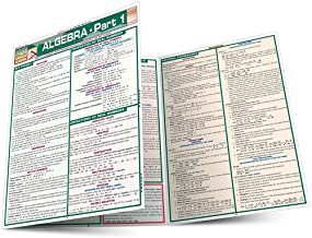 Algebra Part 1 (Quickstudy Reference Guides – Academic) PDF