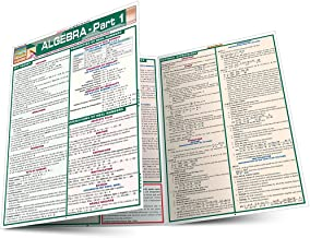 Algebra Part 1 (Quickstudy Reference Guides - Academic)