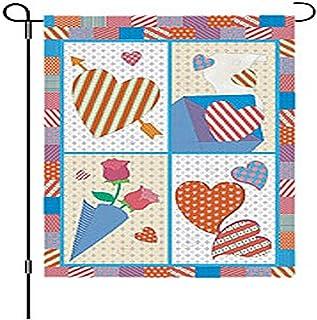 Premier Kites 51135 Garden Brilliance Flag, Sweet Heart, 12 by 18-Inch