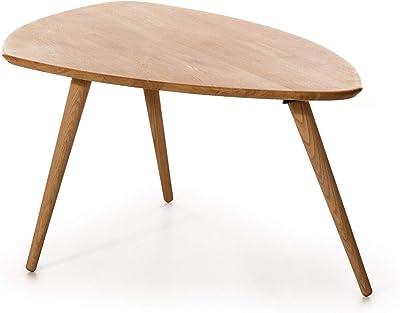 Amazon Brand Green Table basse Chêne sauvage huilé naturel 110 x 63 x 44,5 cm