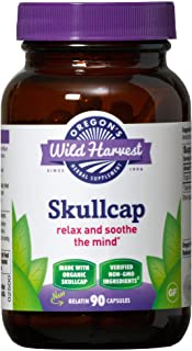 Sponsored Ad - Oregon's Wild Harvest Skullcap Organic Capsules, 90 Count