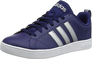 Adidas VS Advantage, Men's Tennis Shoes, Blue (Dark Blue/Matte Silver/Ftwr White 02), 9 UK (43.3 EU) (F34432_02)