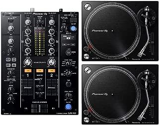 Pioneer DJM-450 DJ Mixer & (2) PLX-500 Turntables