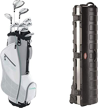 Wilson Ultra Womens Left Handed Complete Golf Club Set with Cart Bag ba56c73aaf