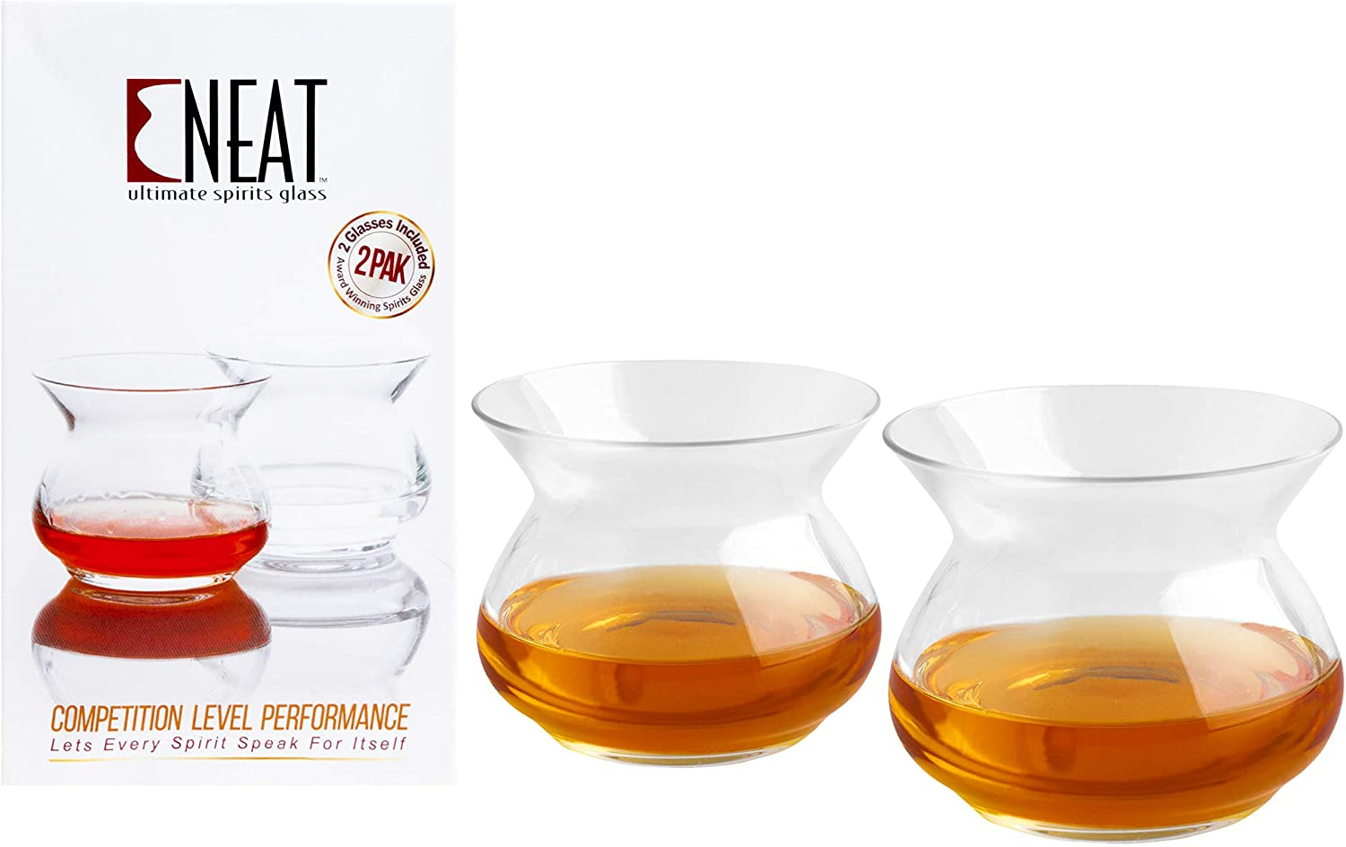 The NEAT Glass Official Competition Super beauty Latest item product restock quality top 2 Clear Judging Pack