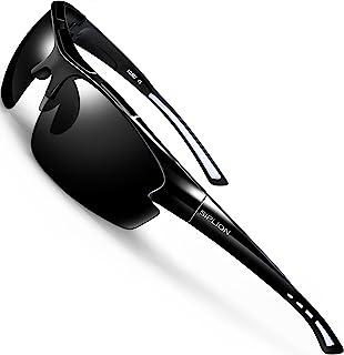 Men's Polarized Sunglasses Sports Glasses for Cycling Fishing Golf TR90 Superlight Frame