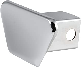 CURT 22100 Chrome Steel Trailer Hitch Cover, Fits 2-Inch Receiver