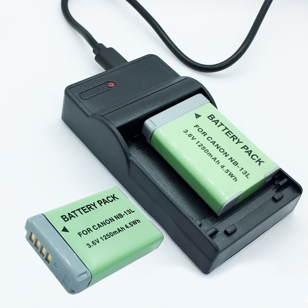 Battery 2 Pack and A surprise price is realized Fort Worth Mall USB Rapid Canon for Batteries Charger Travel