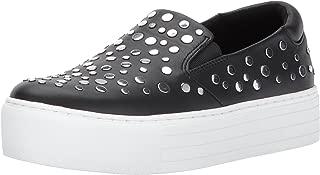 Kenneth Cole New York Women's Jeyda Slip on Platform Stud Detail Fashion Sneaker