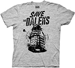 Ripple Junction Doctor Who Adult Unisex Save The Daleks Light Weight Crew T-Shirt
