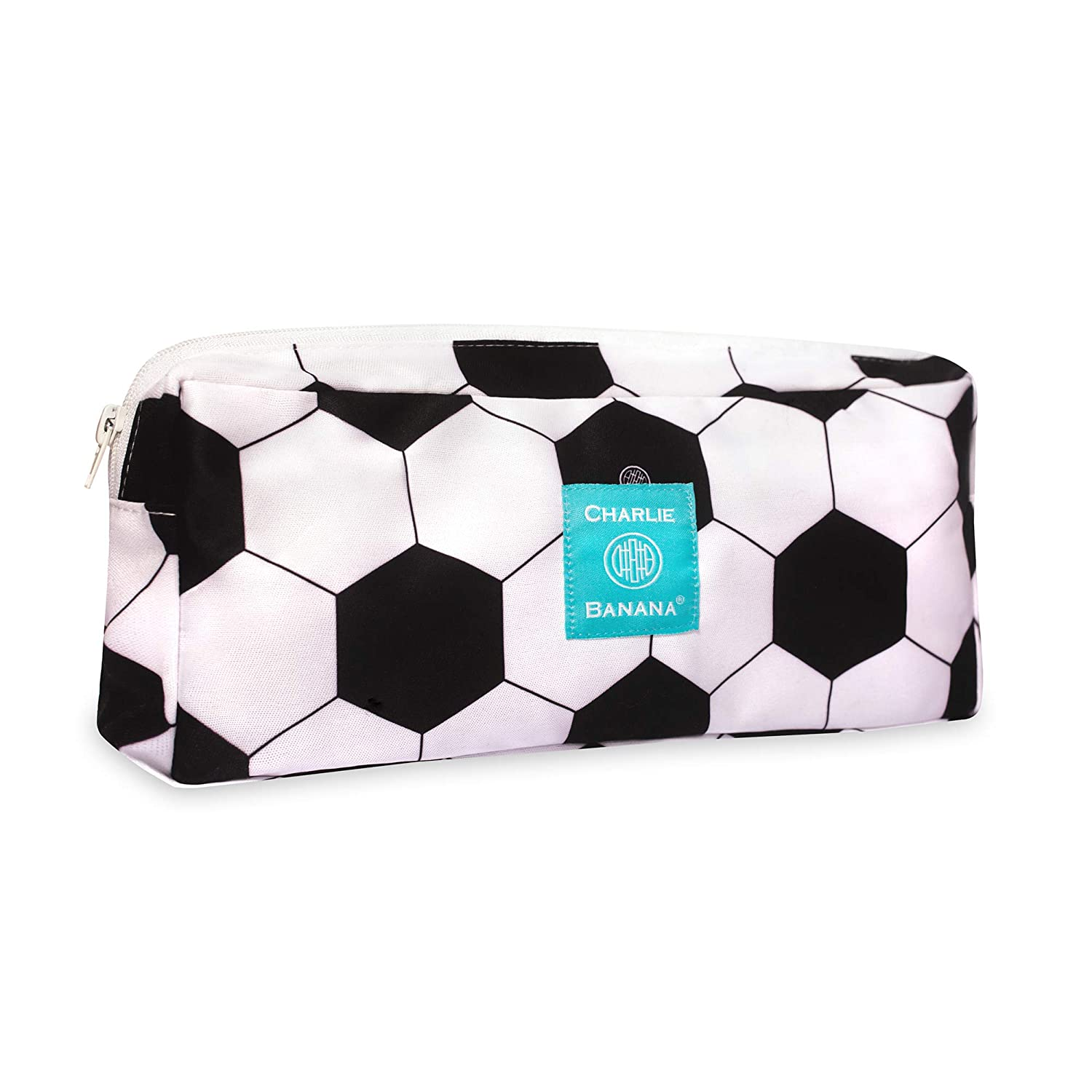 Charlie Banana Baby Multi-Purpose Waterproof Reusable and Washable Wet Pouch, Soccer