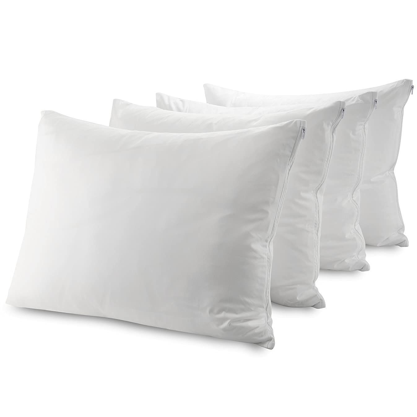 """Guardmax Bed Bug Pillow Protectors Standard 4 Pack 