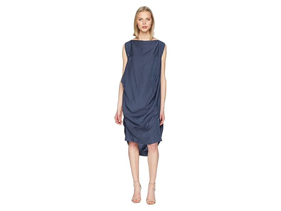 Vivienne Westwood Short Sleeve Fatima Dress (Navy) Women
