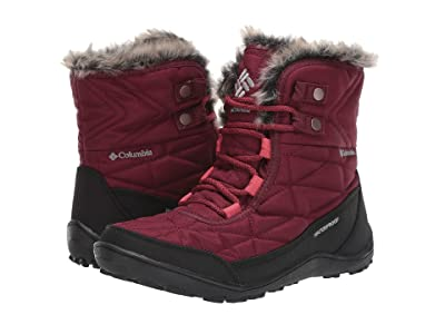 Columbia Minx Shorty III (Rich Wine/Daredevil) Women