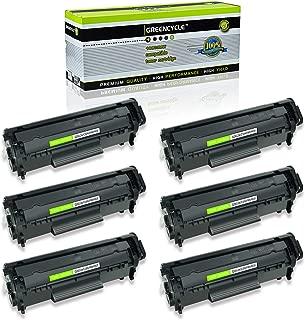 GREENCYCLE 6PK Compatible for Canon 104/FX9 /FX10 Toner Cartridge FX-9/FX-10/C104 use in imageCLASS D420 D480 MF4150 MF4270 MF4350D MF4370DN MF4690 & FAXPHONE L90 L120
