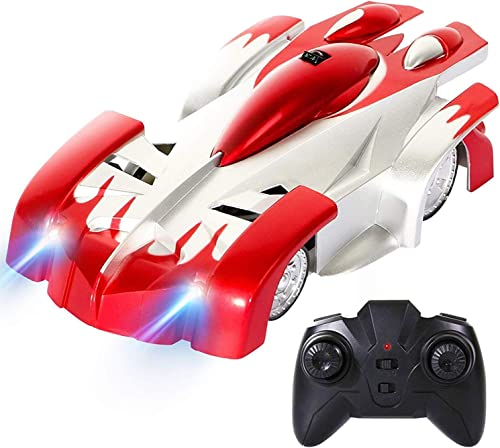 Hot Electronic Item Remote Control Wall Climbing Toy Racing Unbreakable Car with Rechargeable Battery and Charger for Kids