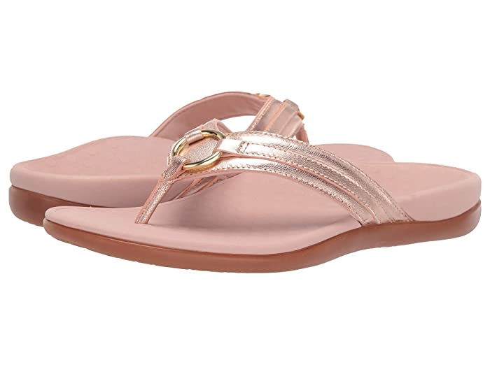 VIONIC  Aloe Metallic (Rose Gold) Womens Shoes