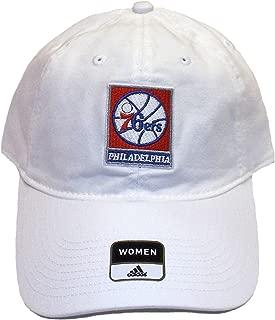 adidas Philadelphia 76ers Slouch Adjustable Hat - Women's OSFA - E823W