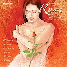 Poetry of Rumi 2018 Wall Calendar