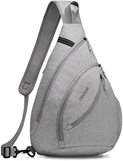 OSOCE Sling Bags,Shoulder Backpack,Over Chest Cross body Bag Pack Sport