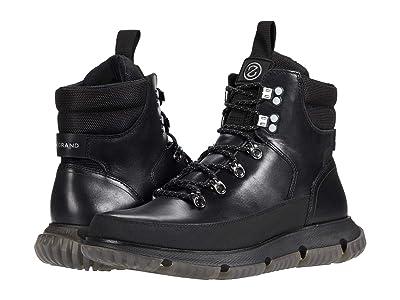 Cole Haan 4.Zerogrand Hiker Wp (Black Waterproof/Black Reflective) Men