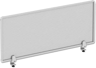 Alera ALE Polycarbonate Privacy Panel, 47w x 18h, Silver
