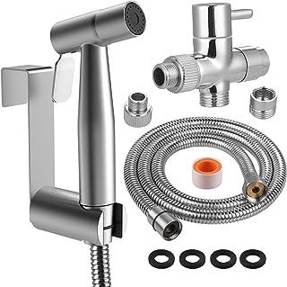 Rovtop Kit Douchette wc, pomme de douche pour le nettoyage de la salle de bain, pulvérisateur pour l'hygiène personnelle q...