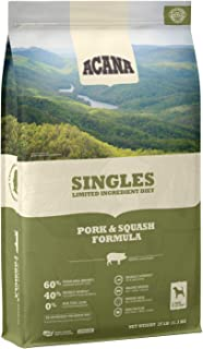 ACANA Singles Protein Rich, Limited Ingredient, Meat, Adult Dry Dog Food